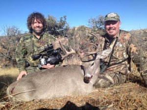 Bill Gorman Coues deer with Tall Tine Outfitters