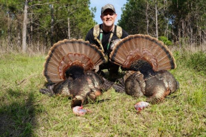 Ron Boillat Osceolas taken with Tall Tine Outfitters