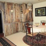 Dining nook in our whitetail rifle hunts kansas lodge