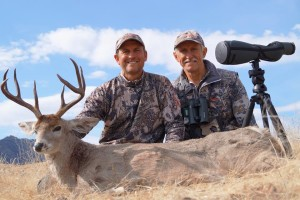 Scott Dorris on one of his Coues Deer Hunts